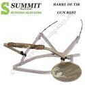 SUMMIT Barre de tir carabine pour Treestand auto-grimpant TITAN, 180 MAX et GOLIATH