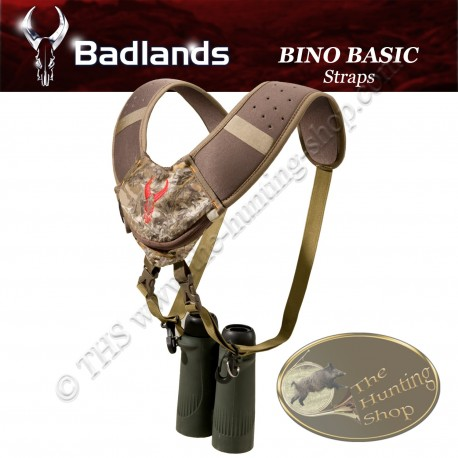 BADLANDS Bino Basic Straps Sangle harnais porte jumelles ultra confortable