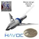 G5 Havoc Pointe de chasse mécanique bilame 100 grains