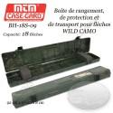 MTM Case-Gard BH-18S-09 Boîte à flèches WILD CAMO pour le transport et le rangement de 18 flèches