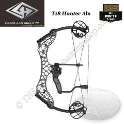 GEARHEAD ARCHERY Hunter Series T18 Arc compound en aluminium 6061 ultra compact et léger