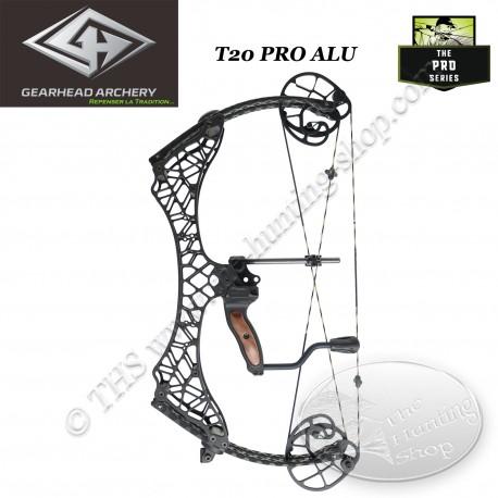 GEARHEAD ARCHERY Pro Series ALU T18 T20 T24 Arc compound en aluminium 7075 ultra compact et léger