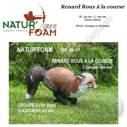 NATUR'FOAM Cible 3D Renard Roux à la course Groupe 3 pour le tir à l'arc
