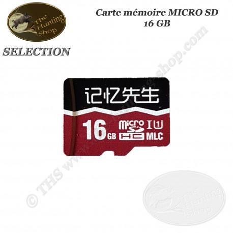 THS SELECTION Carte mémoire MICRO SD 16 GB pour caméra