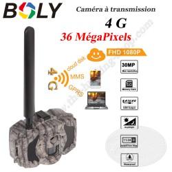 BOLY MG984G-36M Caméra piège photo chasse et surveillance avec envoi photos et vidéos en 4G