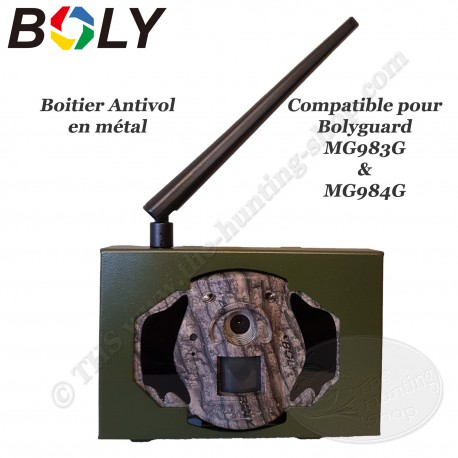 BOLYGUARD Boitier de sécurité antivol en métal pour MG983G et MG984G