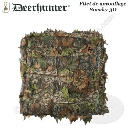 DEERHUNTER Filet de camouflage 3D Sneaky 1,5m sur 5m