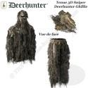 DEERHUNTER Ensemble Ghillie 3D Sniper camouflage Sneaky déstructurant avec gants