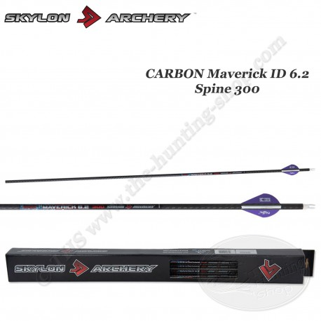 SKYLON ARCHERY 12 Flèches Maverick ID 6.2 - Spine 300