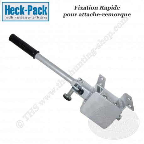 HECK-PACK Fixation rapide pour attache-remorque (sans panier)