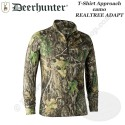 DEERHUNTER T-shirt longues manches Approach camo Realtree Adapt - 8854