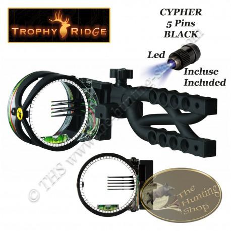 TROPHY RIDGE Cypher 5 Black Viseur de chasse