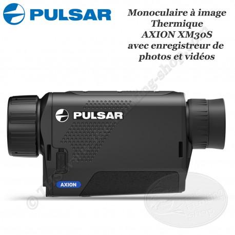 PULSAR AXION XM30S Caméra thermique monoculaire avec enregistreur photo et vidéo