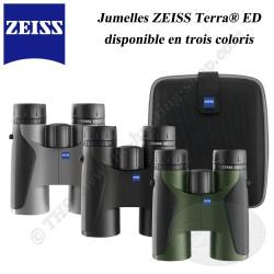 ZEISS Jumelles Terra ED 10x42 Noire Grise Verte