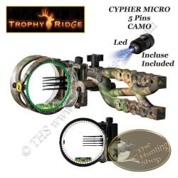 TROPHY RIDGE Cypher Micro 5 Camo Viseur de chasse