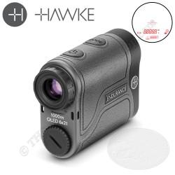 HAWKE ENDURANCE 1000 Télémètre Laser à réticule lumineux avec compensation angulaire pour les archers et la chasse en montagne