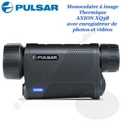 PULSAR AXION XQ38 Caméra thermique monoculaire avec enregistreur photo et vidéo