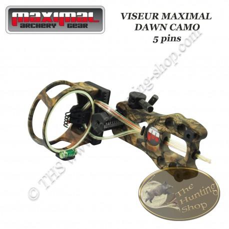 MAXIMAL Dawn Viseur de chasse et tir 3D 5 pins Droitier / Gaucher avec led