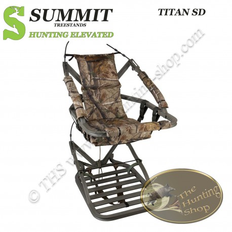 SUMMIT Treestand auto-grimpant TITAN SD - Le Grand et Fort...