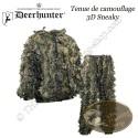 DEERHUNTER Tenue de camouflage 3D Sneaky