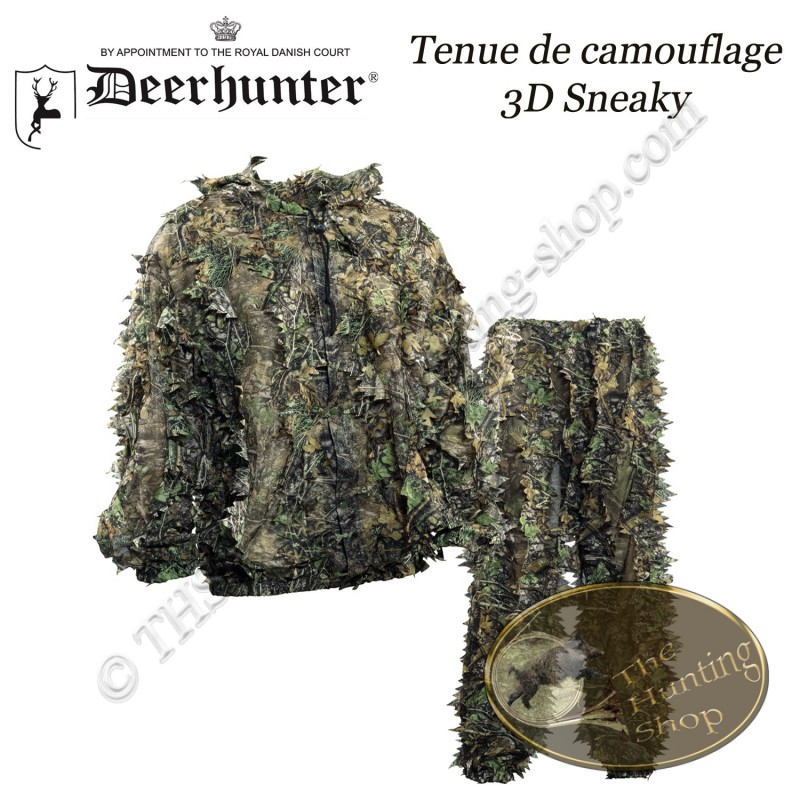deerhunter tenue de camouflage 3d sneaky the hunting shop. Black Bedroom Furniture Sets. Home Design Ideas