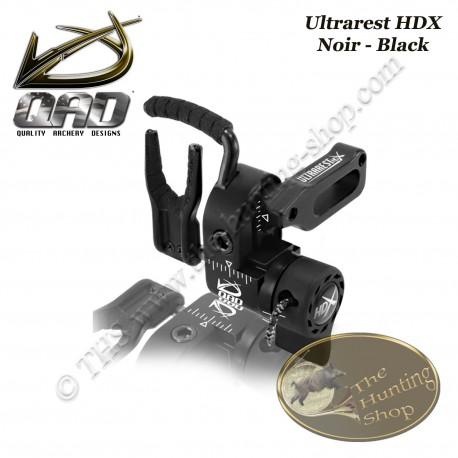 QAD Ultrarest HDX Repose-flèches à effacement pour la chasse et le tir 3D