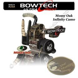 QAD BOWTECH Ultrarest HDX Repose-flèches à effacement pour la chasse et le tir 3D