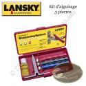 LANSKY Kit d'aiguisage 3 pierres
