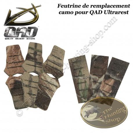 QAD Ultrarest Kit de feutrines de rechange pour repose-flèches