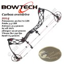BOWTECH Carbon Overdrive Arc compound à poulies