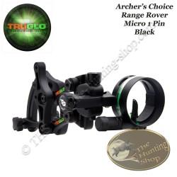 TRUGLO Archer's Choice Range Rover Micro Viseur de chasse mono pointeur