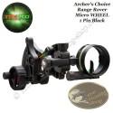 TRUGLO Archer's Choice Range Rover Micro Wheel Viseur de chasse mono pointeur