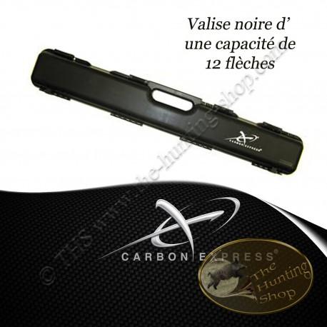 CARBON EXPRESS Valise noire pour flèches