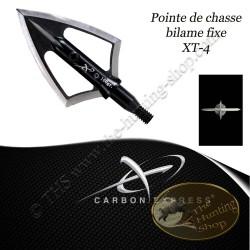 CARBON EXPRESS XT4-BLADE Pointes de chasse bilames fixes