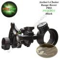 TRUGLO Archer's Choice Range Rover PRO Viseur de chasse mono pointeur à réticule lumineux