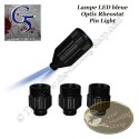 G5 Lampe LED à lumière bleue avec rhéostat et adaptateurs multiples pour viseurs à fibre optique