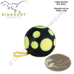 RINEHART RFT Ball cible balle en mousse à lancer pour le tir à l'arc