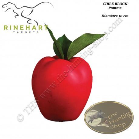 RINEHART Cible 3D Pomme Apple en mousse pour le tir à l'arc