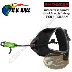 TRU BALL Shooter décocheur bracelet à boucle spécial petits poignets enfant ou femmes pour la chasse et le tir 3D