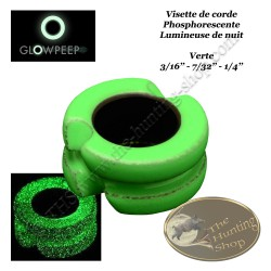 GLOWPEEP Visette de corde phosphorescente lumineuse