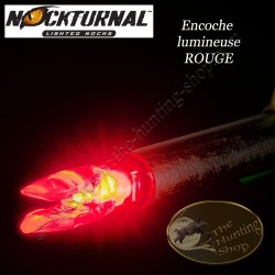 NOCKTURNAL Encoches lumineuses rouges