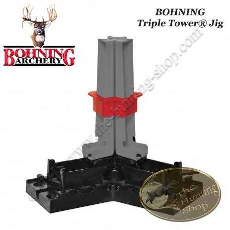 BOHNING Triple Tower Jig Empenneuse 3 vanes en une fois droite, hélicoïdale ou offset