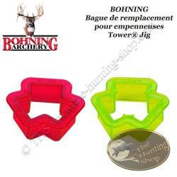 BOHNING collier bague de serrage de remplacement pour empenneuses Tower Jig