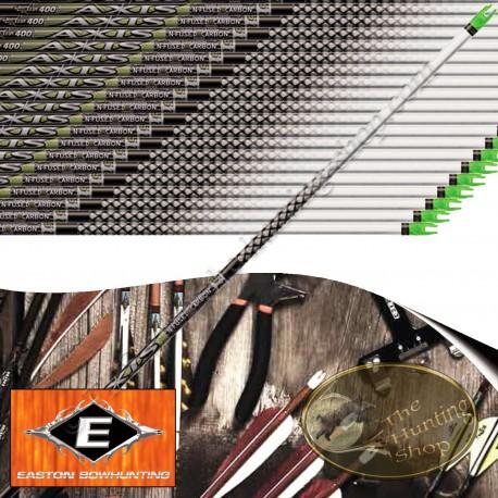 EASTON Axis Tubes de chasse et tir 3D en carbone N Fused