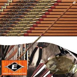 EASTON Axis Traditional Tubes de chasse et tir 3D en carbone imitation bois