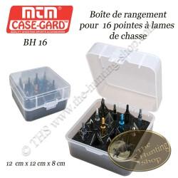 MTM Case-Gard Boîte de rangement pour pointes à lames de chasse BH-16