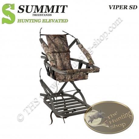 SUMMIT Treestand auto-grimpant VIPER SD - Le Classic...