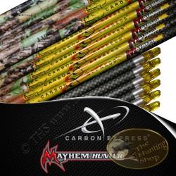 CARBON EXPRESS Mayhem Hunter tubes nus pour flèches de chasse flèches de chasse et tir 3d