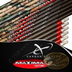 CARBON EXPRESS Maxima Hunter tubes nus pour flèches de chasse et tir 3D