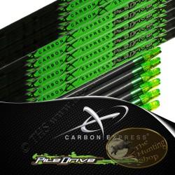 CARBON EXPRESS PileDriver tubes nus pour flèches de chasse et tir 3D